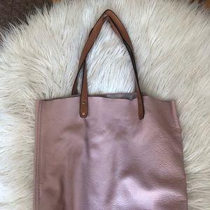 Gap leather tote i